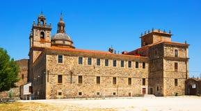 Nosa Senora da Antiga School -  monumental school and church in Stock Photography
