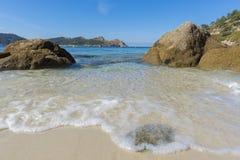 Nosa Senora plaży Cies wyspy Fotografia Stock