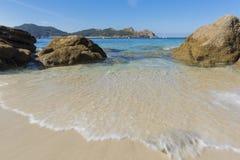 Nosa Senora plaży Cies wyspy Zdjęcie Stock