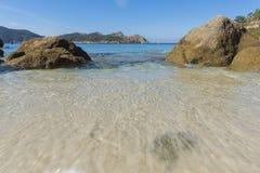 Nosa Senora plaży Cies wyspy Zdjęcia Stock