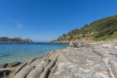 Nosa Senora plaży Cies wyspy Obraz Stock