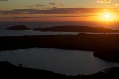 Nosaty Jest sunst, Madagascar Fotografia Royalty Free