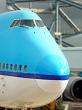 Nose big plane Royalty Free Stock Image