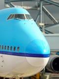 Nose big plane royalty free stock image
