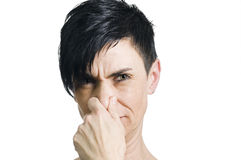 Nose closed Royalty Free Stock Photos