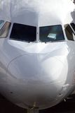 Nose of an commercial airliner Royalty Free Stock Photo