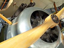 Nose Guns Sopwith Camel Fighter Plane Propellor Stock Images