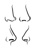 Nose icon Stock Image