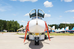 Nose jet military plane, Stock Photography