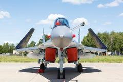 Nose jet military plane, Royalty Free Stock Image