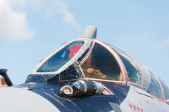 Nose jet military plane, Stock Photos