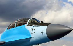 Nose of the military aircraft Royalty Free Stock Photography