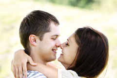 Nose to nose Royalty Free Stock Photo
