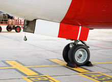 Nose wheel Royalty Free Stock Photography