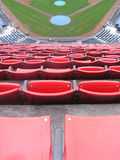 Nosebleed seats Royalty Free Stock Photography
