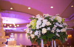Nosegay. Located in a wedding flower bouquet royalty free stock photo