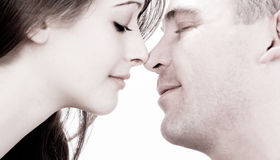 Noses love Royalty Free Stock Photo