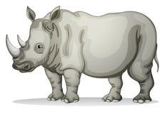 Noshörning royaltyfri illustrationer