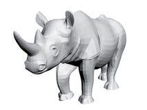 noshörning Arkivfoto