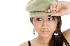 nosić kapelusz Zdjęcie Stock