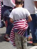 nosić bandery Fotografia Royalty Free