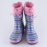 nosi buty dziewczyny jest Wellington zdjęcie stock