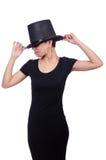 nosi kapelusz kobiety Fotografia Stock