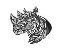nosorożec royalty ilustracja