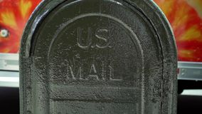 Nosotros caja de letra del correo almacen de metraje de vídeo