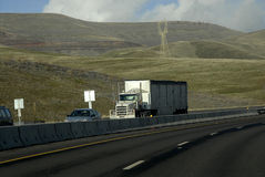 Nosotros carretera 95 y 195 Fotografía de archivo