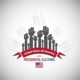 2016 nosotros elecciones presidenciales Fotos de archivo libres de regalías