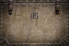 Nosotros fondo militar Foto de archivo libre de regalías