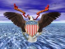 Nosotros grandes seall, orgullo y libertad. Fotos de archivo libres de regalías