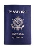 Nosotros pasaporte Imagen de archivo libre de regalías