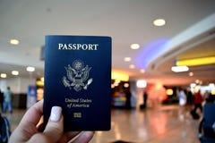 Nosotros pasaporte Imagen de archivo