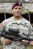 Nosotros soldado Fotos de archivo