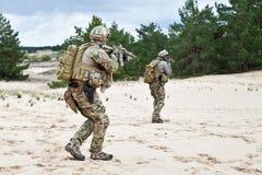 Nosotros soldado Fotos de archivo libres de regalías