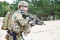 Nosotros soldado Fotografía de archivo