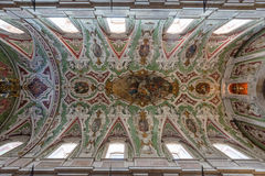 Nossa da Senhora da Encarnacao kyrka, Lissabon, Portugal Fotografering för Bildbyråer