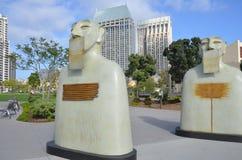 Nossa estátua dos silêncios Imagens de Stock