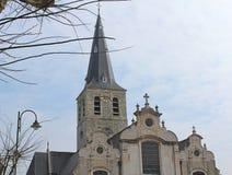Nossa igreja do ` s da senhora, Lebbeke, Bélgica Fotografia de Stock Royalty Free