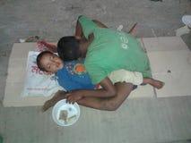nossa pobreza Foto de Stock Royalty Free