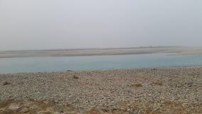 Nossa queda do rio da vila agradável Imagens de Stock