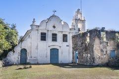 Nossa Senhora da Coneicao Convent Itanhaem Stock Photos