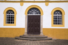 Nossa senhora da Graca church in Sao francisco do sul. Santa Cat. Arina. july, 2017 royalty free stock photography
