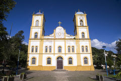 Nossa senhora da Graca church in Sao francisco do sul. Santa Catarina. july 2017. Nossa senhora da Graca church in Sao francisco do sul. Santa Catarina. july stock image