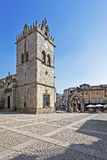 Nossa Senhora da Oliveira Church and Square Royalty Free Stock Photos
