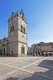 Nossa Senhora da Oliveira Church and Square royalty free stock photos