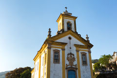 Nossa Senhora das Merces Church in Ouro Preto, Brazil Royalty Free Stock Photography
