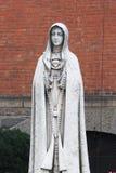 Nossa senhora de Fatima - igreja do santuário de St Anthony de Pádua, New York imagens de stock royalty free